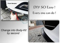 Wholesale For Acura CSX Front Skirt Deflector Spoiler For Car Tuning The Stig Recommend Body Kit Strip Bumper Lip Lips