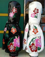 Wholesale 2016 Hot sale New WINWIN Golf Bag for Ladies High quality Women Golf Caddy Bags with Beautiful Flowers Golf Cart Bag Janpan style