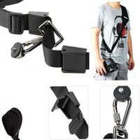 Wholesale Caden Bags - Caden Black Rapid Camera Shoulder Neck Strap Belt Sling for Canon Sony Nikon Panasonic