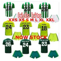 Wholesale kids Real betis football jersey quality of children s clothing football shirts real betis