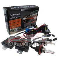 Wholesale Car headlight v w slim hid xenon kit H1 H3 H7 H9 H11 DC kit xenon