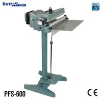 Wholesale PFS Aluminum structure pedal sealer IMPULSE sealing machine band sealer film bag sealer plastic bag sealing machine