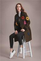 best winter coats women - 2016 best selling black winter wool coats fashion high quality maxmara wool coats ladies Outerwear woolen coats