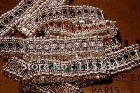 Wholesale Crystal Stretch Multicolor Rhinestone Bracelet For Women Love Crystal Cuff Wristband Bracelets Bangles Fashion Jewelry