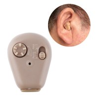 Wholesale K In Ear Mini Digital Hearing Aids Assistance Adjustable Sound Amplifier Promotion Quality New Arrival