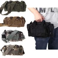 Wholesale Waterproof Outdoor Camping Military Tactical Sport Bag Multi purpose Waist Pack Shoulder Bags Handbag Men s Travel Bags Bolsas