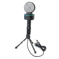 Wholesale 100 Original SF Condenser Microphone For Laptop Notebook PC Computer Microphones With Package High Quality