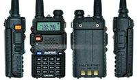 Wholesale BAOFENG UV R ham radio Dual Band Radio Mhz Mhz Baofeng UV5R handheld Two Way Radio Walkie talkie