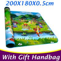 Wholesale 2 Meters Outdoor Kids Gymnastics Mat Large Play Mat Baby Play Mat Outdoor Play Carpet Infant Crawling Mat PX05