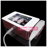 Wholesale 2016 Portable Hifu High Intensity Focused Ultrasound Face lift Machine Harmonic Scalpel Hifu Korea With cartridges Equipment