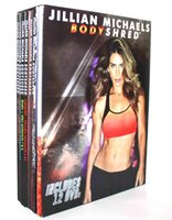Wholesale Jillian Michaels Bodyshred Discs Workout Rotational Calendar Meal Plan Fitness Guide US Version