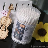 Wholesale yihua New design double head paper stick multifunctional Health Makeup Cosmetics Ear Clean Jewelry Disinfection Clean cotton swabs