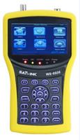 Wholesale Original New Satlink WS dvb s dvb t COMBO satellite finder with spectrum analyzer