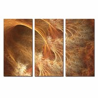 art dec - LK3105 Panel Red And Orange Abstract Oil Painting Wall Art High Giclle Wall Picture Print On Canvas For Home Bar Hub Kitchen Fashion Dec
