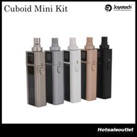 apply system - Joyetech Cuboid Mini Kit W with ml Atomizer and mah TC Mod applies battery protection circuit system upgradable firmware Orignial