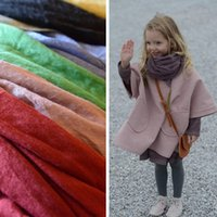 Wholesale Best Selling Solid Colors Stylish Soft Kids Girls Boys Baby Child Toddler Linen Scarf Winter Warm Shawl Neck Scarves Pashmina