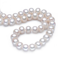 baroque pearls wholesale - 8 mm Baroque Freshwater Cultured Pearl Endless Necklace