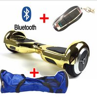 Wholesale Hot cool Chorme color inch two wheels electric scooter with remote bag bluetooch safety battery