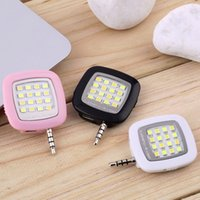 Wholesale 1pc Mini Portable Smart LED Camera Fill in Flash Selfie Light For Cellphone Hot Worldwide