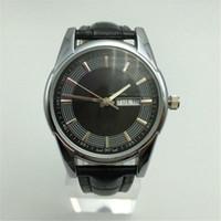 Precio de Gifts-Nuevos productos - Relojes de lujo clásico de gama alta - marca de moda reloj de cuarzo - mesa de regalo Relogio Hotel - con un calendario de relojes 003
