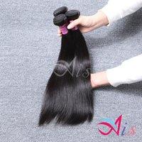 al por mayor 6a cabello humano mongol-3Bundles Malasia Mongolia Camboya bruto humano recto haces de pelo Dyeable la mejor calidad de las tramas del pelo 6A doble de las tramas del ayuno DHL