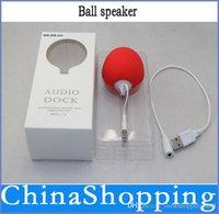 apple laptop music - Mini mm Music Sponge Balloon Ball Speaker For iPhone iPod MP3 MP4 Laptop