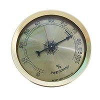 aluminium greenhouse - Analog Hygrometer Aluminium Humidity Measurement Instruments for Cigar Humidor Wine Cabinets Hydroponics Greenhouse