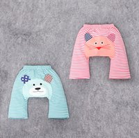 Wholesale Kids cartoon PP pants new stripes cheap baby spring summer cotton shorts cm boy pants S1