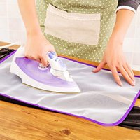 Wholesale High Quality x60 cm Cloth Cover Protect Ironing Pad Heat Resistant Cloth Mesh Ironing Board mat