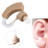 Wholesale Digital Touching Moderate Severe Loss Hearing Aids Kit Behind the Ear BTE Sound Voice Amplifier Brand New