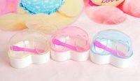 Wholesale Romantic fashion multicolor pet hamster sand bath love heart bathroom