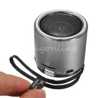 Wholesale Hot Z12 Mini Cylinder Portable Speaker Amplifier FM Sound Music Radio HIFI Support USB Micro for SD TF Line in Card MP3 Player