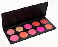 Wholesale Professional Color Makeup Blush Face Blusher Powder Palette Cosmetics Product Contour Shading Concealer Hot HHA850
