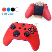 Wholesale Soft Silicone Rubber Protective Skin Case Cover For Microsoft Xbox one Controller For Xboxone Gel Cover Freeshipping