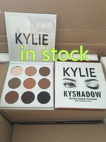 Wholesale DHL free in stock new arrival Kylie Cosmetics Jenner Kyshadow eye shadow Kit Eyeshadow Palette Bronze Cosmetic Colors