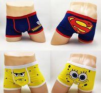 animal underwear - Hot Anime Pocket Bob Superhero Superman Tuzki Bulge underpants soft cute Monster cartoon men boxer Monkey cotton Men s Underwear
