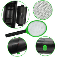 mosquito racket - New Electronic Mosquito Racket Fly Racket Handled fly Racket Electric Bug Zappers Mosquito Kill Swatter Zapper