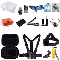 24 in 1 corredo Nuoto Sci Sub Sport di accessori Da GoPro Hero4 Sessione Hero1 2 3 3+