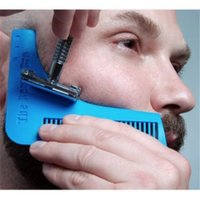 Wholesale 2016 Hot the Beard Bro Beard Shaping Tool for Perfect Lines Symmetry PRO SHAVING BEARD IN Store