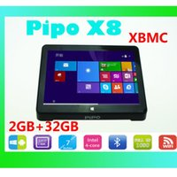 Wholesale 2GB GB Windows Android Dual OS Inch Screen PIPO X8 MINI PC Tablet Computer Z3736F Quad Core Touch Panel PC TV Box