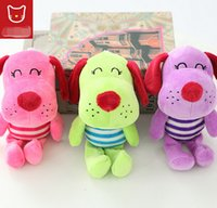 baby dog games - Lovely Striped Dog Plush Toy CM Stuffed Cartoon Anime Dolls Children Baby Stuffed Toys For Kids Gift