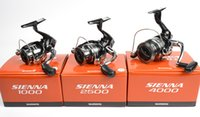 bait cups - Shimano SIENNA New spinning reel Winding reel Aluminum alloy wire cup Compact bodyStrong Series Series Series