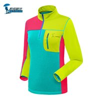 Wholesale Protective Brand Patchwork Long Sleeve Quick Dry Shirts Women Outdoor Sports Breathable Coolmax Womens Hiking T shirt