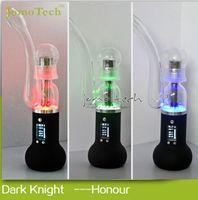 H kit herbe vaporisateurs Wax Vaporisateur Kit Bong en verre Tuyauterie 2500mAh batterie rechargeable VS PAX2 Ecig Kit Jomo Dark Knight Honor avec boîte de détail