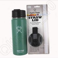 Wholesale Hydro Flask Wide Mouth Straw Lid for Hydro Flask Vacuum Insulated oz oz oz oz Stainless Steel Water Bottle Lid CCA4767 set