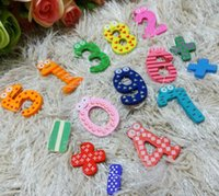 Wholesale 1 Set Numbers Fridge Refrigerator Magnet Educational Magnets Home Decor Stickers Baby Children Toy
