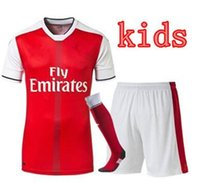 Wholesale New Arsenal kids kit sock jerseys football shirts Thai quality jerseys