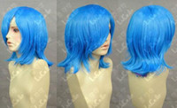 ami blue - Ami Mizuno Mercury Sea Blue Short Cosplay Party Wig Fashion Cos Wig Hair