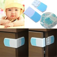 Wholesale Kid Baby Cupboard Cabinet Door Right Angle Safety Drawer Lock Latches L00016 SMAD