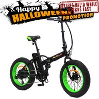 folding bike - Addmotor MOTAN Complete Bike M Sport Green FOLDING Fat tire E Bike W V AH quot Electric Bicycle